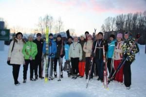 Спартакиада сотрудников - 2015г. лыжи